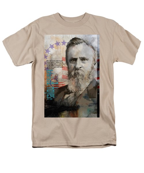 Rutherford B. Hayes T-Shirt by Corporate Art Task Force