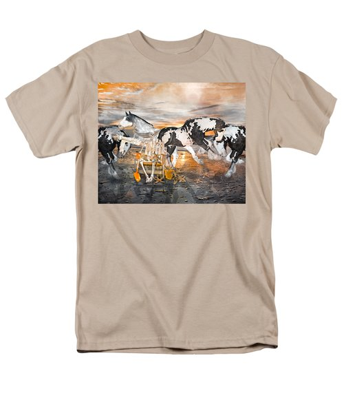 Sam and the Horses T-Shirt by Betsy C  Knapp
