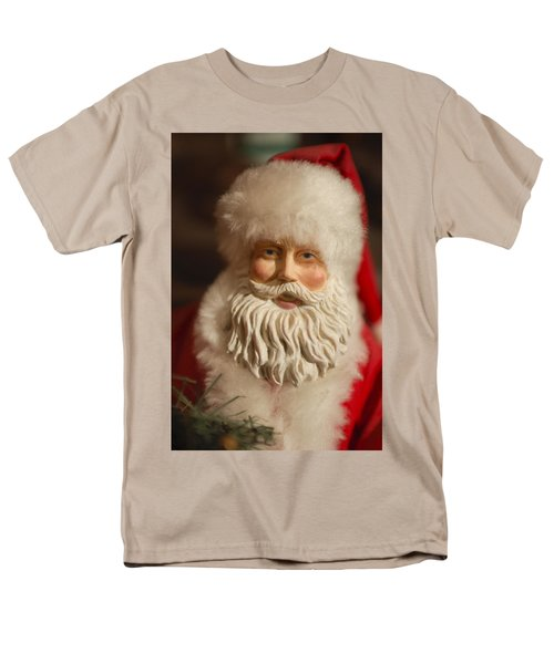 Santa Claus - Antique Ornament - 07 T-Shirt by Jill Reger