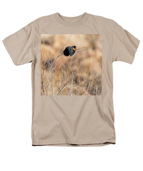 Springtime Song Square Men's T-Shirt  (Regular Fit) by Bill Wakeley