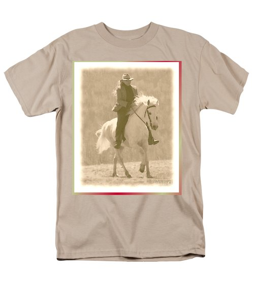 Stallion Strides T-Shirt by Patricia Keller