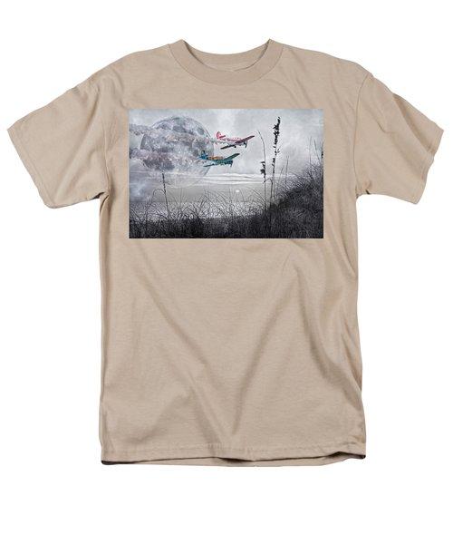 Super Moon Flight T-Shirt by Betsy C  Knapp