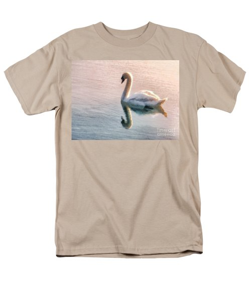 Swan on lake T-Shirt by Pixel  Chimp