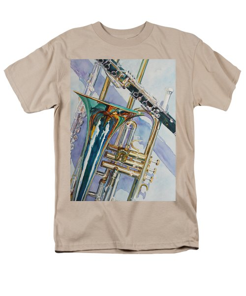 The Color Of Music Men's T-Shirt  (Regular Fit) by Jenny Armitage