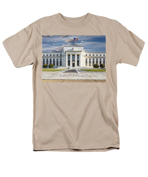 The US Federal Reserve Board Building T-Shirt by Susan Candelario