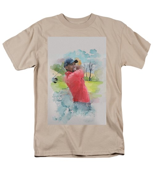 Tiger Woods T-Shirt by Catf