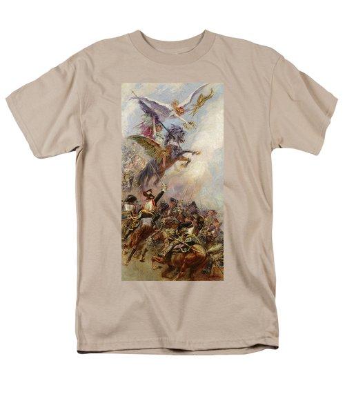Victory Men's T-Shirt  (Regular Fit) by Jean-Baptiste Edouard Detaille