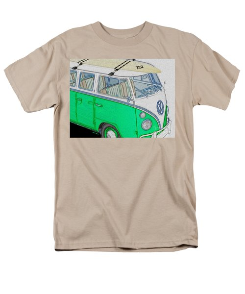 Vw Surf Bus T-Shirt by Cheryl Young