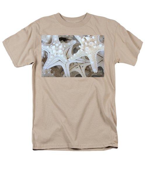 White Starfish T-Shirt by Carol Groenen