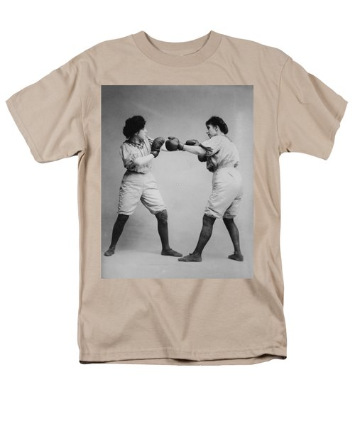 Woman Boxing T-Shirt by Digital Reproductions