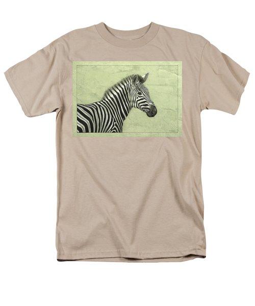 Zebra T-Shirt by James W Johnson