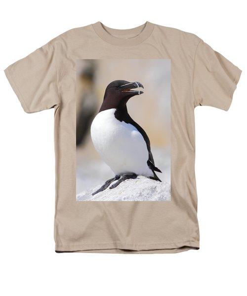 Razorbill Men's T-Shirt  (Regular Fit) by Bruce J Robinson