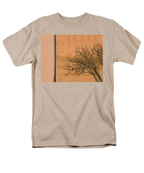 Architecture with Winter Tree T-Shirt by Lenore Senior