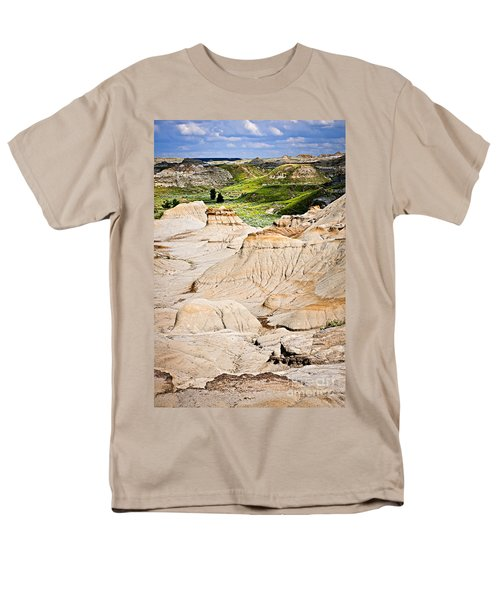 Badlands in Alberta T-Shirt by Elena Elisseeva