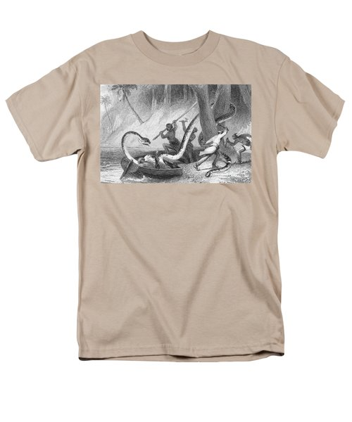 Boa Constrictor Attack Men's T-Shirt  (Regular Fit) by Granger
