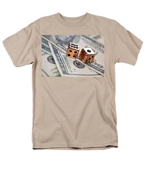 Copper Dice and Money T-Shirt by Susan Leggett