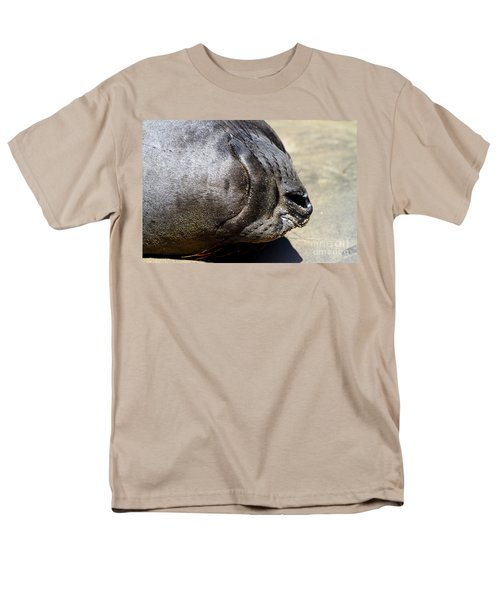 Elephant Seal Snout . 7D16085 T-Shirt by Wingsdomain Art and Photography