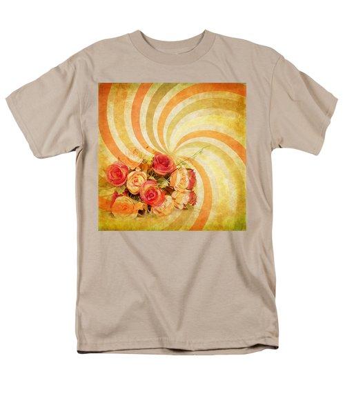 flower pattern retro style T-Shirt by Setsiri Silapasuwanchai