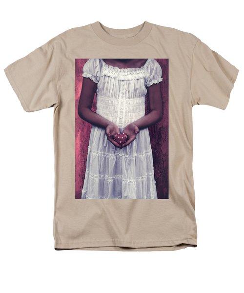 girl with a heart T-Shirt by Joana Kruse
