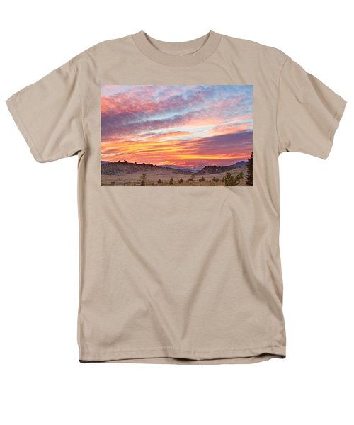 High Park Wildfire Sunset Sky T-Shirt by James BO  Insogna