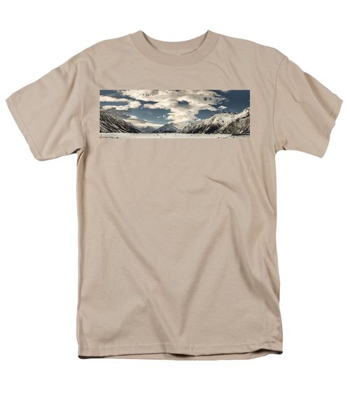 Hooker River In The Valley At Tasman T-Shirt by Colin Monteath