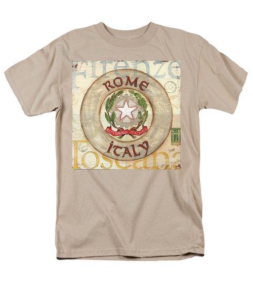 Italian Coat of Arms T-Shirt by Debbie DeWitt