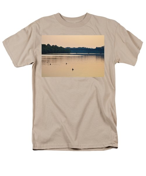 Morning Along the Schuylkill River T-Shirt by Bill Cannon