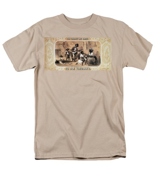 Oh Carry Me Back To Ole Virginny, 1859 T-Shirt by Photo Researchers