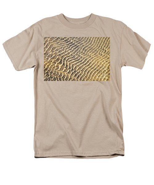 Sand ripples in shallow water T-Shirt by Elena Elisseeva