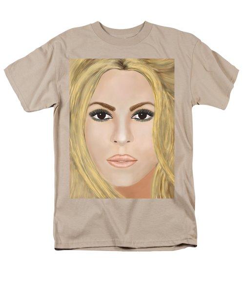 Shakira Men's T-Shirt  (Regular Fit) by Mathieu Lalonde