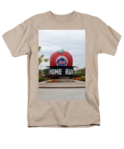 SHEA STADIUM HOME RUN APPLE T-Shirt by ROB HANS