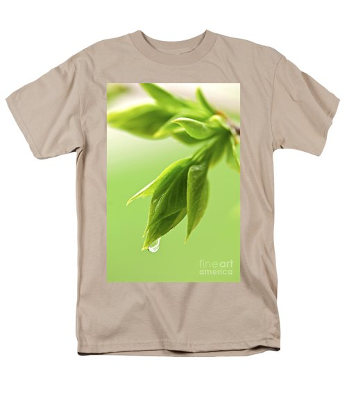 Spring green leaves T-Shirt by Elena Elisseeva