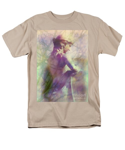 Statue in the Garden T-Shirt by Judi Bagwell