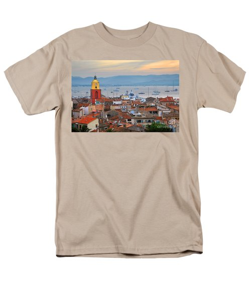 St.Tropez at sunset T-Shirt by Elena Elisseeva