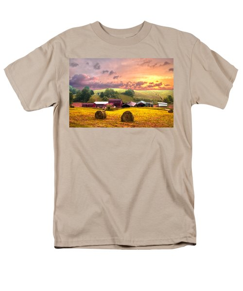 Sunrise Pastures T-Shirt by Debra and Dave Vanderlaan