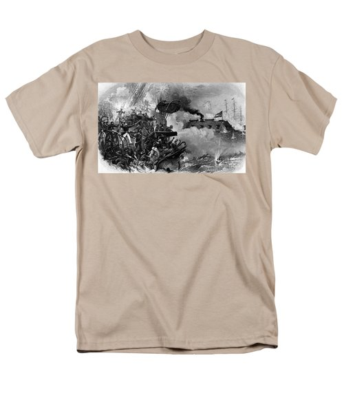 The Confederate Ironclad Merrimack T-Shirt by Photo Researchers