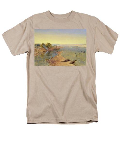 The Ganges Men's T-Shirt  (Regular Fit) by William Crimea Simpson