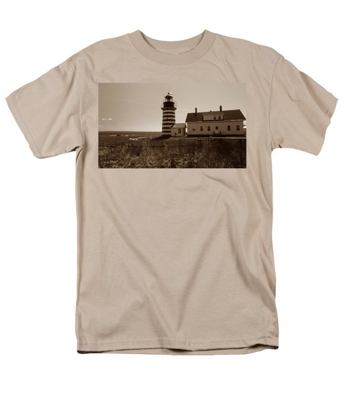 WEST QUODDY LIGHTHOUSE T-Shirt by Skip Willits