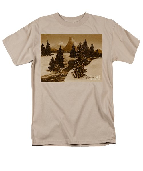 When it Snowed in the Mountains T-Shirt by Barbara Griffin