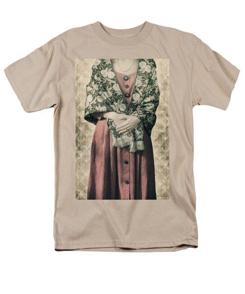 woman with shawl T-Shirt by Joana Kruse