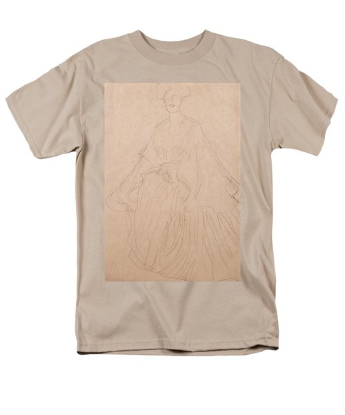 Adele Bloch Bauer Men's T-Shirt  (Regular Fit) by Gustav Klimt