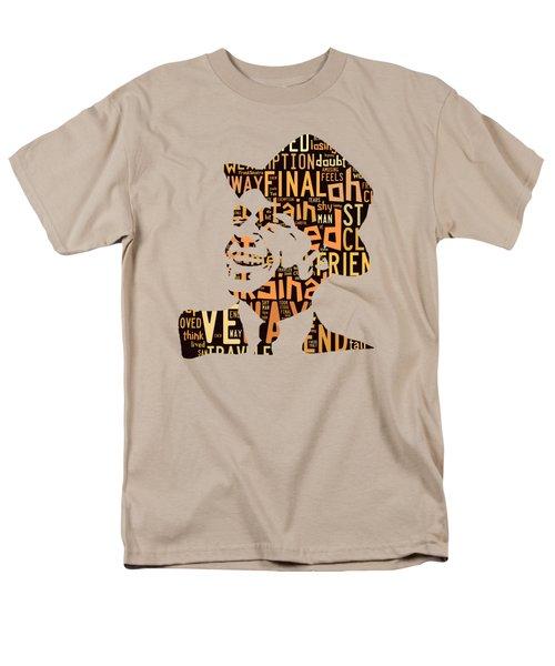 Frank Sinatra I Did It My Way Men's T-Shirt  (Regular Fit) by Marvin Blaine