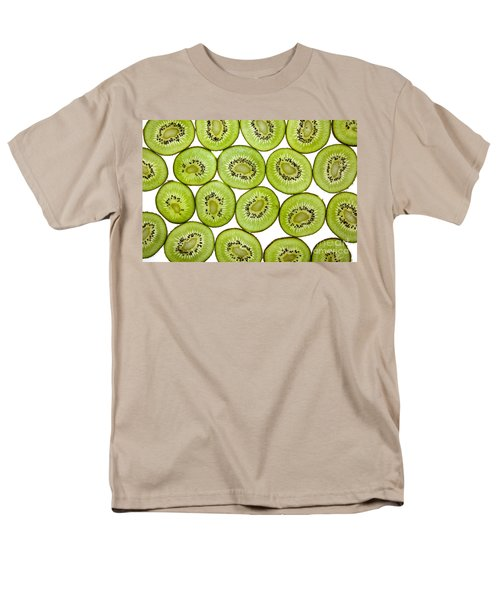 Kiwifruit Men's T-Shirt  (Regular Fit) by Nailia Schwarz