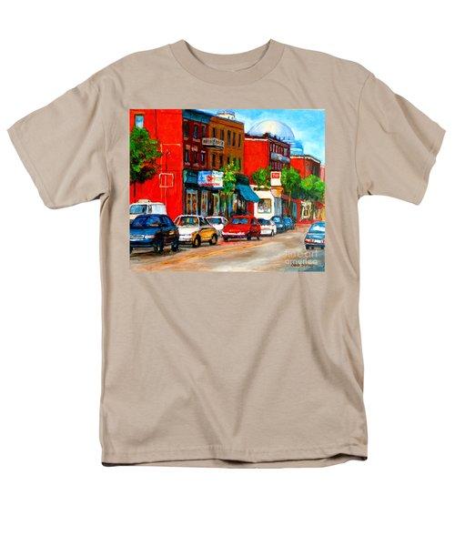 MONTREAL PAINTINGS T-Shirt by CAROLE SPANDAU