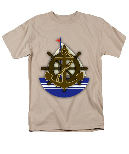 Nautical Collection Men's T-Shirt  (Regular Fit) by Marvin Blaine