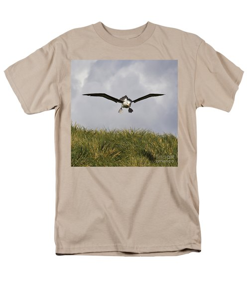 Black-browed Albatross Men's T-Shirt  (Regular Fit) by Jean-Louis Klein & Marie-Luce Hubert