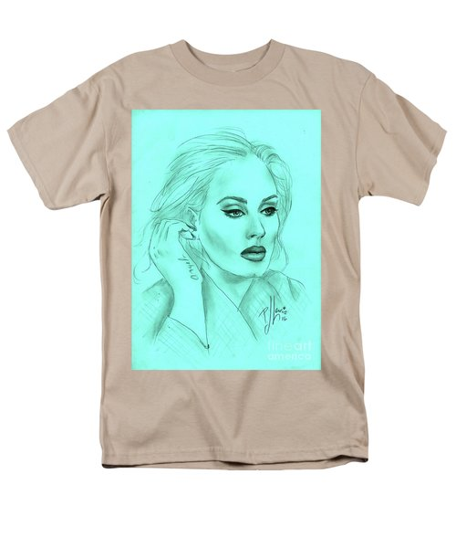 Adele Men's T-Shirt  (Regular Fit) by P J Lewis