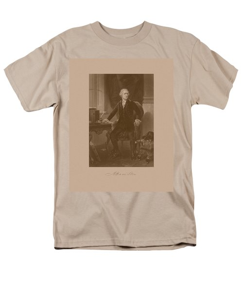 Alexander Hamilton Sitting At His Desk T-Shirt by War Is Hell Store