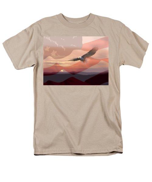 And the Eagle Flies T-Shirt by Paul Sachtleben