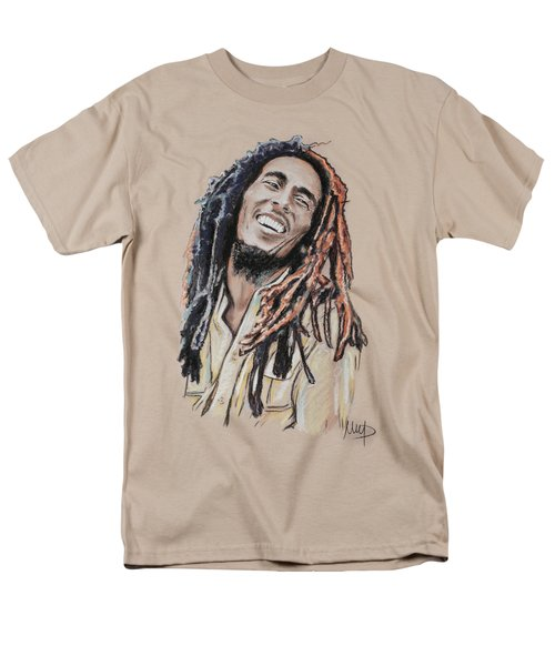 Bob Marley Men's T-Shirt  (Regular Fit) by Melanie D